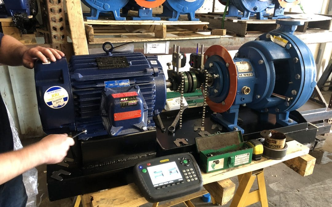 The Importance of Pump/Motor Shaft Alignment