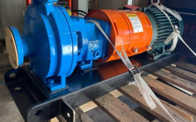 CD4 Summit Pump ANSI Package Coupled to a Toshiba Corporation Severe Duty Motor