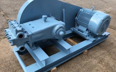 Cast Iron Triplex Plunger Pump Skid