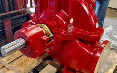 Custom AC 9100 Series Horizontal Split Case 12x8x22 UL/FM Fire Pump