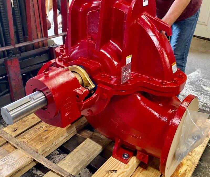 Custom AC 9100 Series Horizontal Split Case 12x8x22 UL/FM Fire Pump