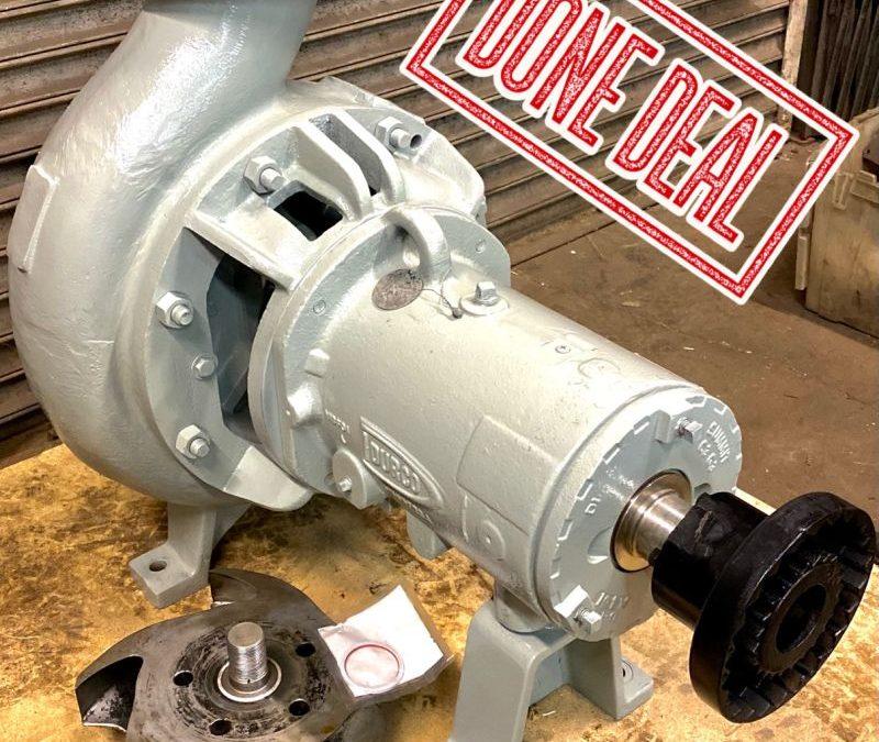 Durco Mark 3 Group 3 6x8 ANSI pump