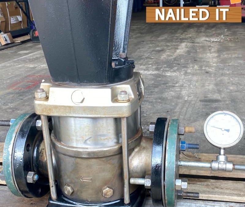 GRUNDFOS CRN64 vertical multistage booster pump