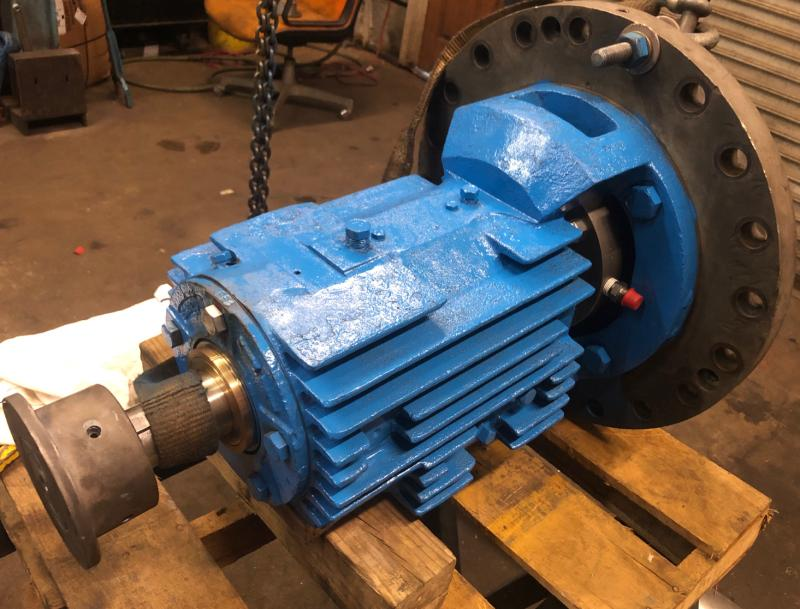 Goulds 3700 Single-Stage API 610 Centrifugal Pump Repair