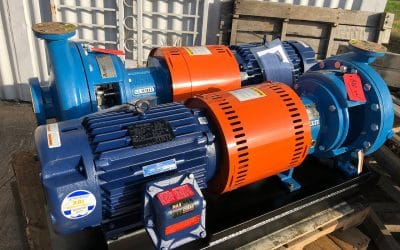 SUMMIT 2196MTO 1.5×3-13 End Suction Centrifugal Pumps