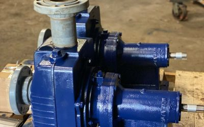 "Crane 3"" x 3"" Self-Priming Centrifugal Pumps Rebuilt at ABET"