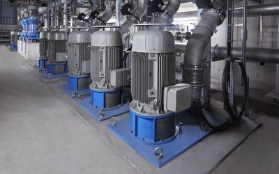 Egger Pumps in Rolling Mill – Steel Industry