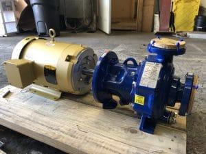 INNOMAG TBMAG 1x1.5-6 ANSI Teflon-lined Mag-drive centrifugal pump and Baldor motor