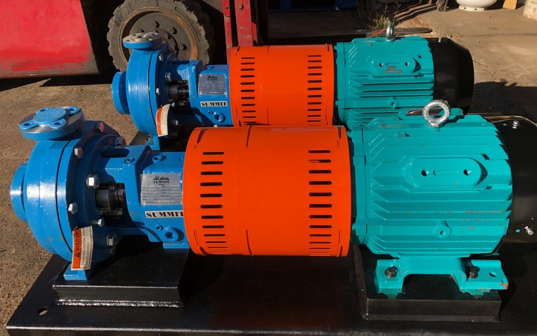 2196 STO End Suction Centrifugal Pumps