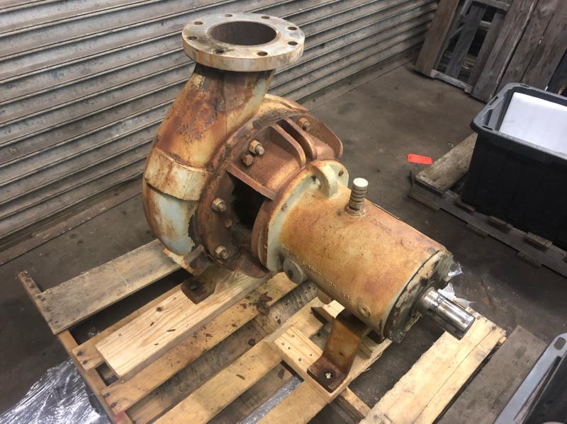 Rebuilding Summit Clark III Group III 8×6-14 Stainless Steel ANSI Pump