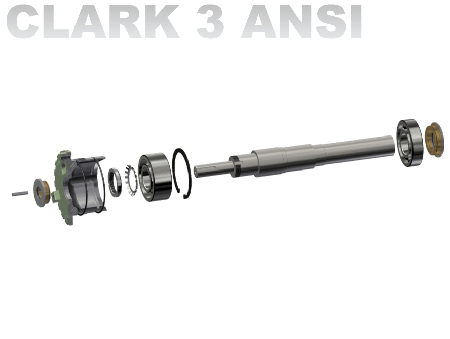 Clark 3 ANSI / General Purpose Pump Shaft Kit