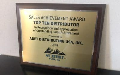 Summit Pump Top Ten Distributor
