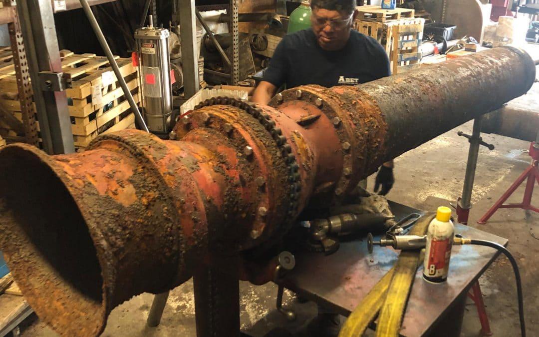 Vertical Turbine Repairs