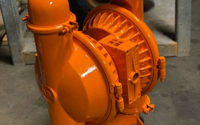 Wilden 3″ Air Operated Double Diaphragm Pump Rebuilt Using NOMAD Parts